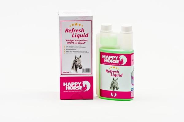 """Happy Horse """"Refresh-Liquid für Pferd und Reiter"""""""