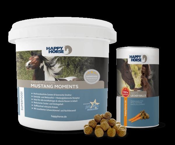 Mustang Moments 5 kg + 300 g Lecker Ball Karotte