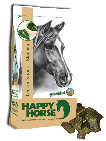 "Happy Horse ""Lecker-Snacks Moringa getreidefrei"""